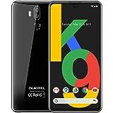OUKITEL K9 スマホ本体 K9 7.12インチFHD+水滴大画面 SIMフリースマートフォン本体 6000mAh電池 4GB RAM+64GB ROM 4G LETタブレットコンピュータ携帯電話 Helio P35 Octa-Core (黒)