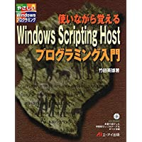 使いながら覚えるWindows Scripting Hostプログラミング入門 (やさしいWindowsプログラミング)
