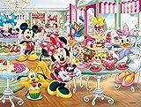 63ピース 3Dマジックジグソーパズル ディズニー ミニーのスイートショップ 【レンチキュラー】