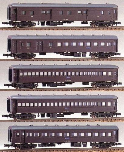 Nゲージ 107 ローカル列車part2 5輌編成セット (未塗装車体キット)