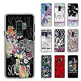 ScoLar スカラー デザイン Galaxy S9+ SC-03K、SCV39機種専用スマホケース 50570 カバー ハードケース iPhone Xperia AQUOS Galaxy ARR..