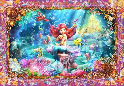 [해외]1000 피스 퍼즐 인어 공주 예쁜 공주 (아리엘) 판타 스 티컬 아트 (51x73.5cm)/1000 Piece Jigsaw Puzzle Little Mermaid Beautiful Mermaid (Ariel) Fantastic Tikal Art (51 x 73.5 cm)