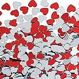 D DOLITY 紙吹雪 愛の心 テーブル DIY装飾 ギフトバッグ 風船飾り キラキラ