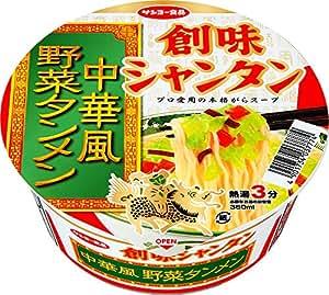 サンヨー食品 創味シャンタン 中華風野菜タンメン 85g×12個