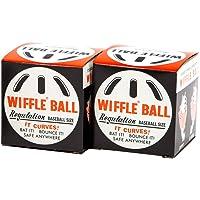 ウィッフルボール 2個 セット WIFFLE Ball 箱入 [日本正規品], 白