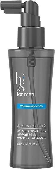 h&s for men ボリュームアップトニック 125ml【HTRC3】