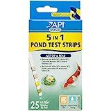 API POND 5 IN 1 POND TEST STRIPS Pond Water Test Strips 25-Count