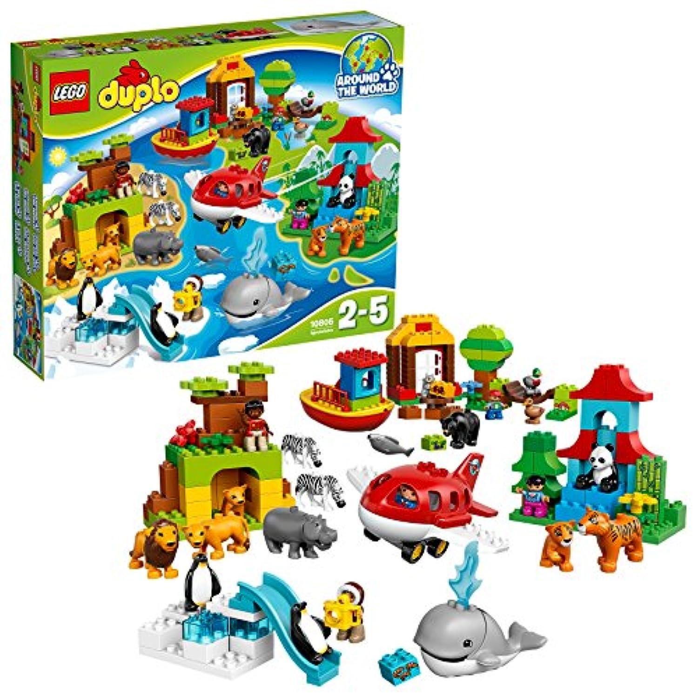 レゴ (LEGO) デュプロ 世界のどうぶつ 世界一周セット