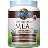 Garden of Life Meal Replacement Chocolate Powder, 14 Servings, Organic Raw Plant Based Protein Powder, Vegan, Gluten-Free - P