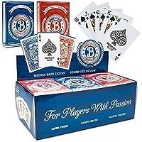 [Brybelly]Brybelly 12 Decks of Elite Medusa Back CasinoQuality Playing Cards Wide Size / Regular Index 5296201 [並行輸入品]