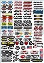KUNGFU GRAPHICS カンフー グラフィックス KYB Alpinestars ステッカー レーシングスポンサーロゴ マイクロデカールシート