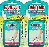 【まとめ買い】BAND-AID(バンドエイド) タコ・ウオノメ除去用 足の指用 6枚×2個 [指定医薬部外品]