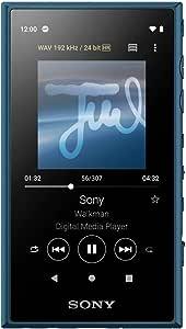 ソニー ウォークマン 16GB Aシリーズ NW-A105 : ハイレゾ対応 / bluetooth / android搭載 / microSD対応 タッチパネル搭載 最大26時間連続再生 ブルー NW-A105 L
