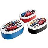 スケーター 弁当箱 シール容器 保存容器 3個組 カーズ 20 ディズニー 日本製 860ml SRS3S-A