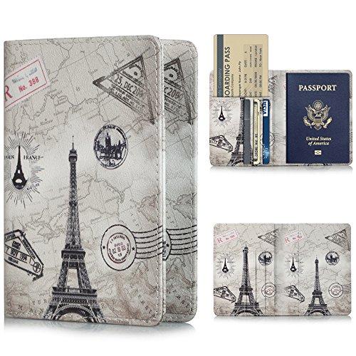 YMIX パスポートホルダー 旅行パスポートケース  レザー...