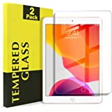 """[2 Pack] Apple iPad 7 /7th Gen 10.2"""" 2019 Tempered Glass LCD Scratch Resist Tempered Glass LCD Screen Protector Film Guard (2"""