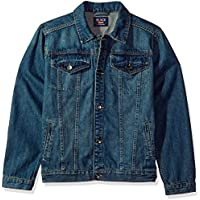 The Children's Place Boys' Basic Denim Jacket - Blue