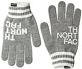 [ザ・ノース・フェイス] ビッグロゴイーニットグローブ Big Logo E-Knit Glove ミックスグレー 日本 L (日本サイズL相当)
