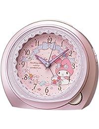 セイコー クロック 目覚まし時計 マイメロディ アナログ ピンク メタリック CQ143P SEIKO