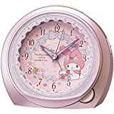 SEIKO CLOCK (セイコークロック) 目覚まし時計 マイメロディ アナログ ピンクメタリック CQ143P