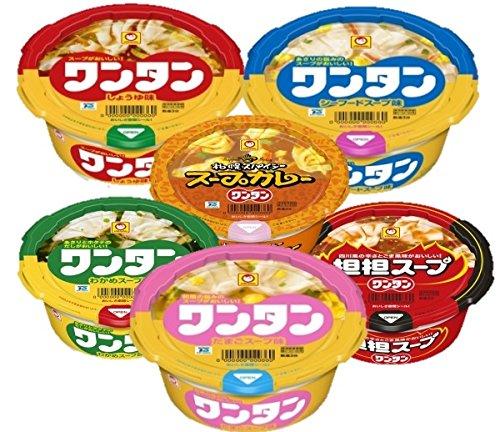 マルちゃん スープワンタン詰め合わせ 4種類 各3個 1箱:12個入り