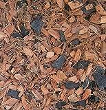 Orchid Bark, Orchid Soil, Orchid Compost, Orchid Plants, 10 mm Washed Coco Husk Chips + Charcoal, オーキッド植物のためのオーキッド樹皮土堆肥、良い排水のために木炭と混合された100%有機ココナッツ殻チップ。 Phalaenopsis, Moth Orchid, Zygopetalum 用の小型ココナッツチップ。(11 Litres)