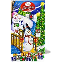 Madelaineチョコレートクリスマスby the CreekカウントダウンAdvent Calender 24Chocolates Net Wt 8oz