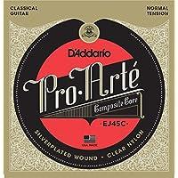 【2セット】 D'Addario ダダリオ Pro-Arte プロアルテクラシックギター弦 EJ-45C コンポジット 〔np〕【Ebiオリジナルピック付】