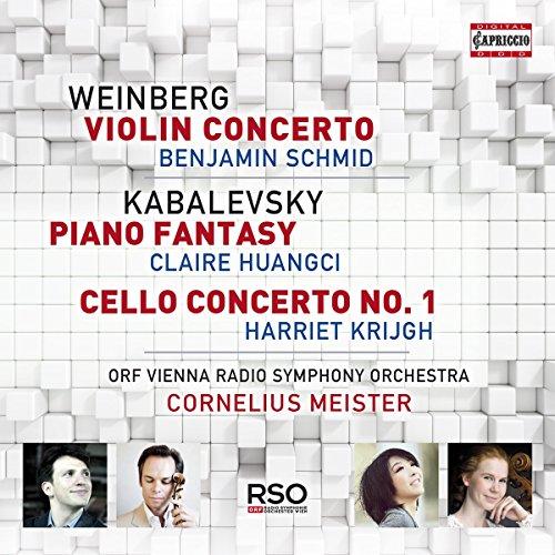 [画像:Weinberg: Violin Concerto / Kabalevsky: Piano Fantasy / Cello Concerto No. 1]