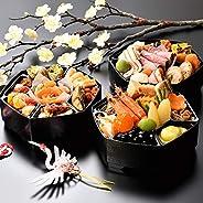 おせち 2021 和洋おせち 1-2人前 京都割烹 美先「花手毬」六角三段重 全34品