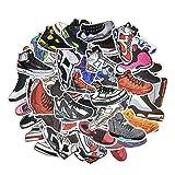 ナイキスニーカー Lot of 100Random Nike Jordan Yeezyスニーカーノートパソコン電話マット仕上げステッカーMix 3–5日出荷