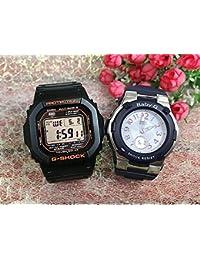 カシオCASIO 腕時計 G-SHOCK ペアウォッチ 純正ペアケース入り ジーショック&ベビージー 2本セット GW-M5610R-1JF BGA-1100-2BJF