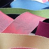 リボン屋さんが作った ウェディング サッシュベルト 高級グログラン 50mm巾 ローズピンク 3メートル