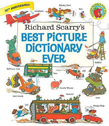 Richard Scarry's Best Picture Dictionary Ever (Giant Little Golden Book)の詳細を見る