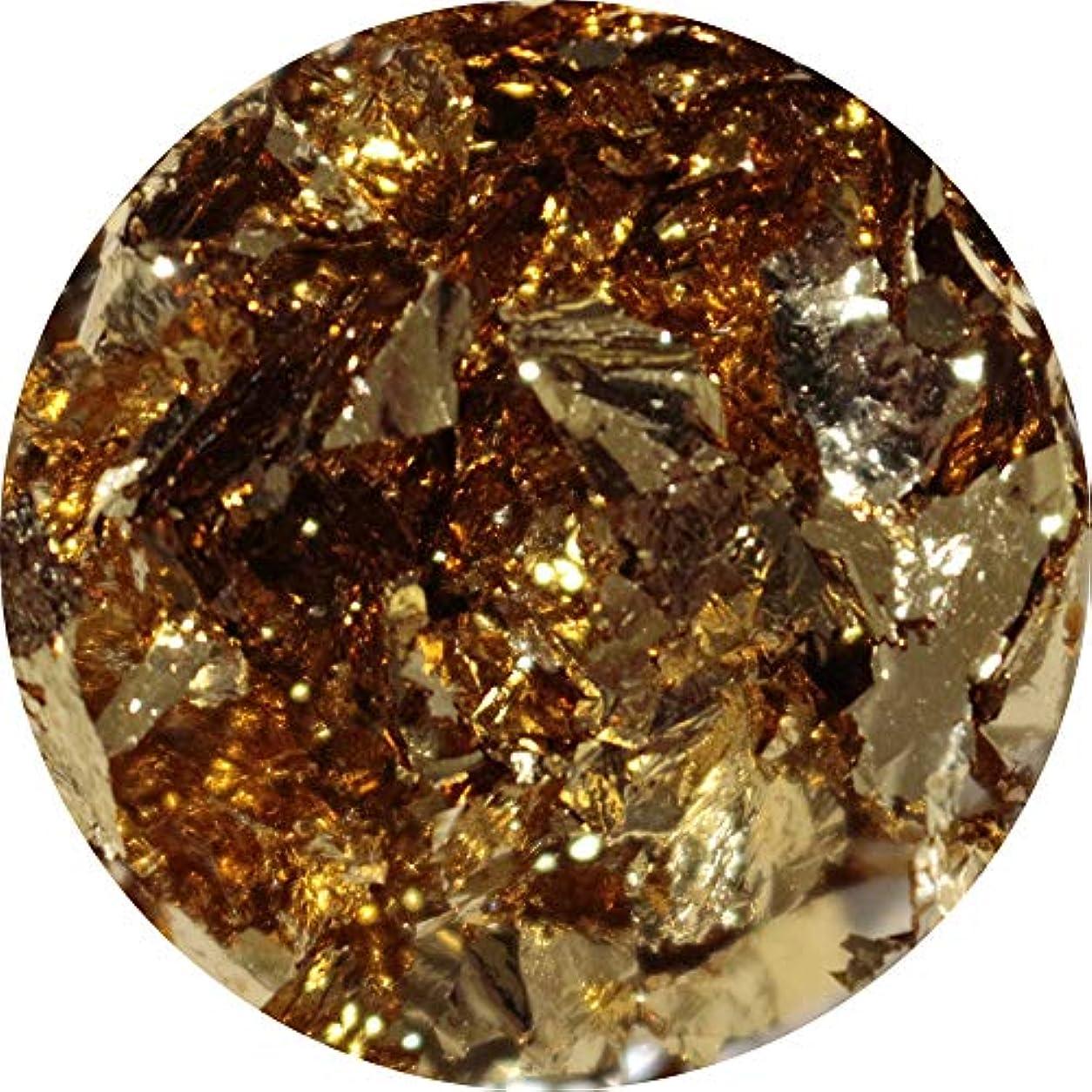 四半期気候の山突き出すMATIERE(マティエール) ホイルフレーク ゴールド