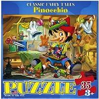 "Jigsaw Puzzle 35 Pieces 13""X10""-Pinocchio (並行輸入品)"