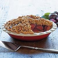 CHEFS Stoneware Pie Dish - red gradient - CHEFS Stoneware by CHEFS