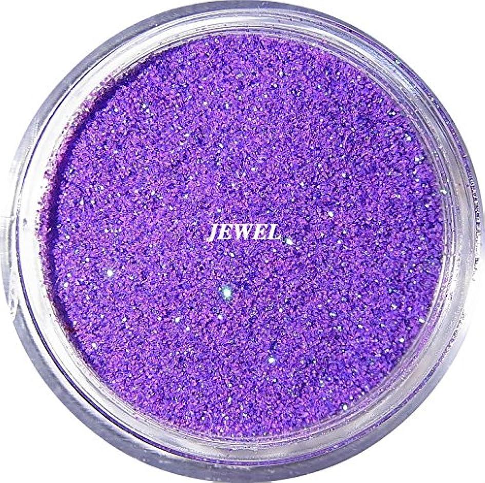後世司令官設置【jewel】 超微粒子ラメパウダーたっぷり2g入り 12色から選択可能 レジン&ネイル用 (パープル)