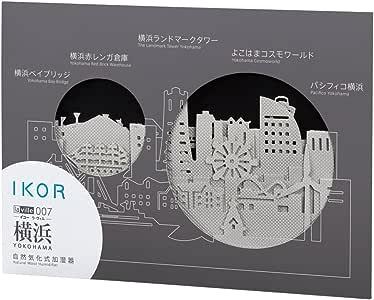 《横浜の街並みをお手元に》IKOR la ville 007 YOKOHAMA(イコー ラ・ヴィル 007 横浜)交換用フィルター4枚/1セット入り