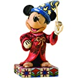 Disney Traditions by Jim Shore Sorcerer Mickey Personality Pose Stone Resin Figurine, 4.25""