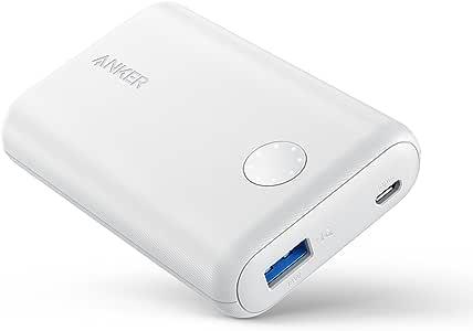 Anker PowerCore II 10000 (モバイルバッテリー 10000mAh 大容量)【PSE認証済/PowerIQ 2.0搭載 / LED Wheel】iPhone&Android対応 (ホワイト)