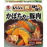 ヒガシマル醤油 レンジでほくほく かぼちゃと豚肉2P×10個
