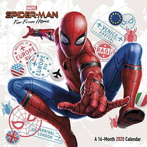 Spider-man - Far from Home 2020 Calendar