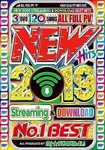 最新過ぎてごめんなさい これがあれば時代の最先端2019年最新曲 洋楽ベストヒット 洋楽DVD New Hits 2019 No.1 Best - DJ☆Scandal! 3DVD 3枚組 国内盤