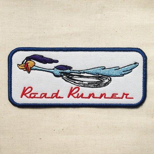 RoomClip商品情報 - ワッペン ロードランナー Road Runner(ラン/レクタングル) RR022-1
