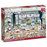 プレミアムコレクション18808ロンドンティーパーティー1000ピースジグソーパズル、マルチ