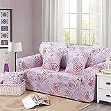 スパンデックスのソファのクッションカバー 3 席の長椅子ソファ Slipcover Decor-Big 花