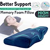 Memory Foam Pillow Butterfly Shaped Neck Rebound Soft Cushion Health Care Relief