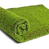 LIOOBO Artificial Moss Mat Fake Grass Turf Lawn Plants Lichen for Home Garden Patio DIY Decoration (Coffee Point)