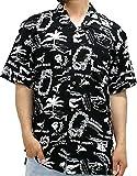 ROUSHATTE(ルーシャット) 大きいサイズ メンズ シャツ 半袖 アロハシャツ 柄8 5L